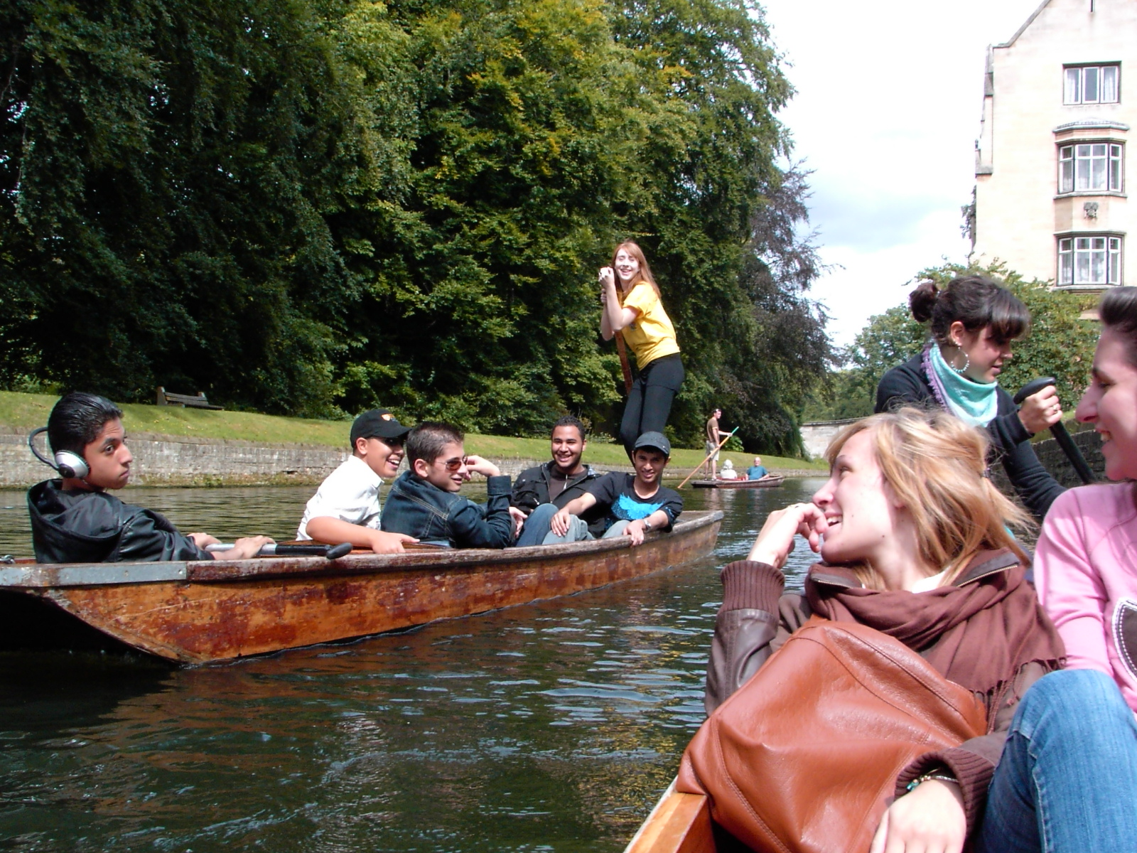 Grantchester punting 2