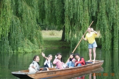 Punting with Katie