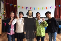 With Shakespeare